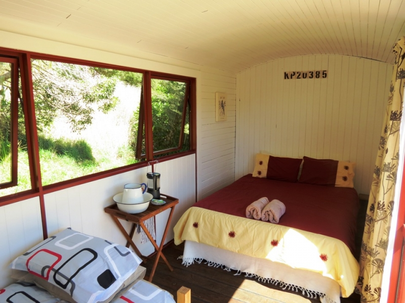 South Wairarapa coastal accommodation at Te Rakau Cabins