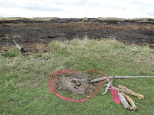 Site of original campfire which started the whole thing