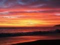 Kaikoura backdrop to the evening sky